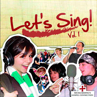 CD Cover Let's sing Volume 1