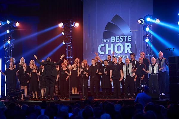 Die Gospel-Connection beim Auftritt im WDR
